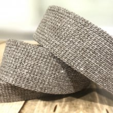 35mm Webbing Taupe