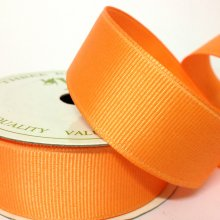 25mm Grosgrain Ribbon Apricot