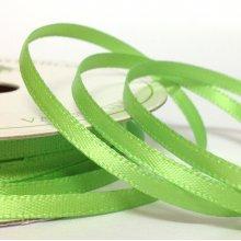 3mm Satin Ribbon Lime