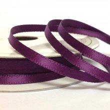 3mm Satin Ribbon Plum