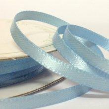 6mm Satin Ribbon Light Blue