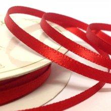 6mm Satin Ribbon Red