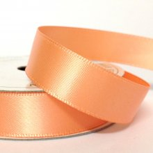 15mm Satin Ribbon Coral