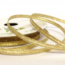 3mm Sparkly Gold Ribbon