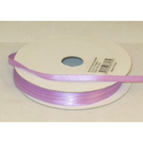 3mm Satin Ribbon Purple 10m Roll